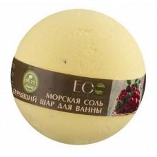EcoLab Бурлящий шар для ванны Черная смородина и Клюква 220 г