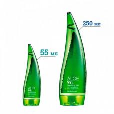 Holika Holika Увлажняющий гель для лица и тела с 99% органическим Алоэ Вера Aloe Soothing Gel 55 мл