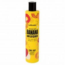 Cafe Mimi Гель для душа Банан и Личи 300 мл