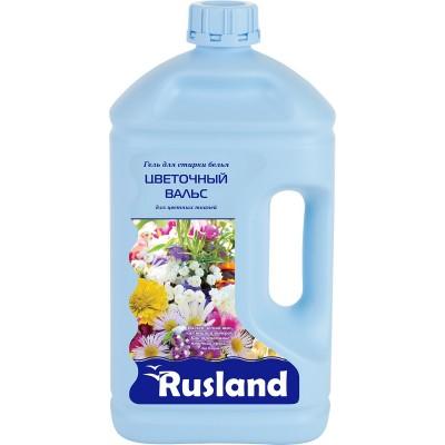 RusLand Гель для стирки Цветочный вальс для всех типов цветных тканей 2,5 л