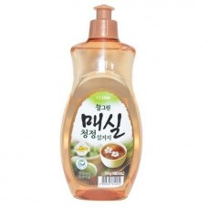 CJ Lion, Средство для мытья посуды, овощей и фруктов Charmgreen Японский абрикос, 480 мл