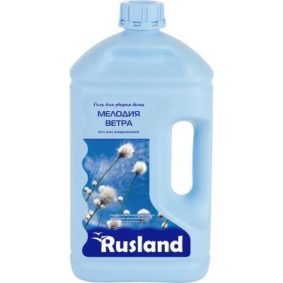RusLand Гель для уборки дома Мелодия ветра для всех поверхностей 2,5 л