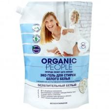 Organic People Гель ЭКО для стирки белого белья 2л
