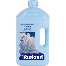 RusLand Гель для стирки Белая береза для всех типов светлых тканей 2,5 л