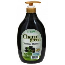 CJ Lion, Средство для мытья посуды, овощей и фруктов Charmgreen Древесный уголь, 960 мл
