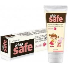 Lion Детская зубная паста Kids Safe со вкусом клубники (3-12 лет), 90 г