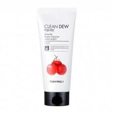 Tony Moly Пенка для умывания экстрактом ацеролы Clean Dew Acerola Foam Cleanser