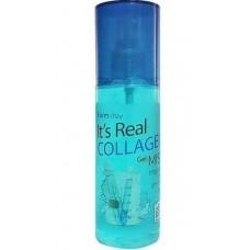 FarmStay гель-спрей для лица коллаген Its Real Collagen Gel Mist 120 мл