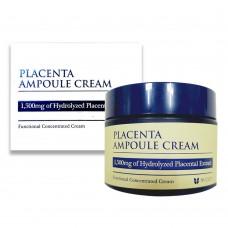 Mizon Плацентарный крем для лица Placenta ampoule cream объем 50 мл
