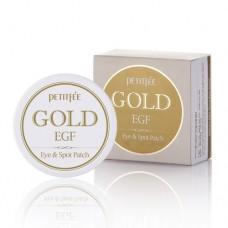 Petitfee Гидрогелевые патчи с коллоидным золотом и EGF Gold & EGF Eye Patch