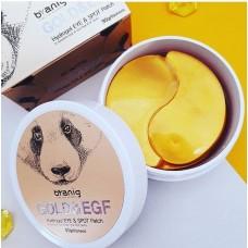 Byanig Гидрогелевые патчи с золотом и EGF для кожи вокруг глаз Gold & EGF Hydrogel Eye & Spot Patch