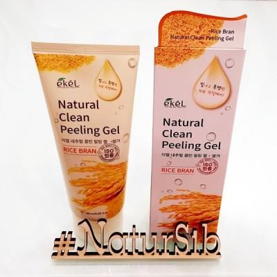 Ekel Пилинг-скатка с экстрактом коричневого риса Rice Bran Natural Clean Peeling Gel