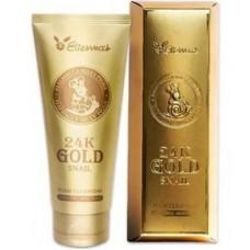 Elizavecca Пенка для умывания с золотом и муцином улитки 24K Gold Snail Cleansing Foam
