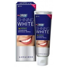 KeraSys Зубная паста DС 2080 Shining White Сияющая белизна отбеливающая с фтором 100 гр