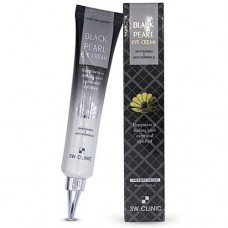 Крем с черным жемчугом 3W Clinic Black pearl Eye Cream Whitening & Anti-Wrinkle 40 мл