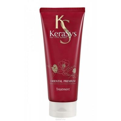 KeraSys Маска Oriental Premium для всех типов волос, красная туба 200 мл