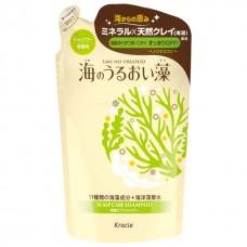 Kracie Шампунь ЗАПАСКА для кожи головы и волос с экстрактами морских водорослей 400 мл