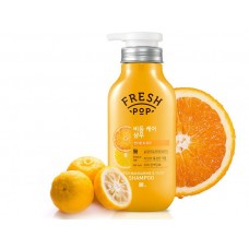 Fresh Pop Шампунь против перхоти Fresh Mandarine & Yuza Shampoo 500 мл