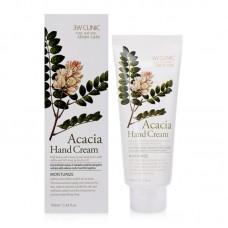Увлажняющий крем для рук с экстрактом акации 3W Clinic Moisturizing Hand Cream acacia 100 мл