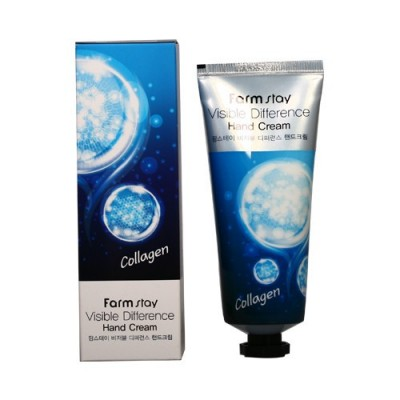 FarmStay Крем для рук коллаген Visible Difference Hand Cream 100 мл