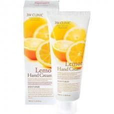 Увлажняющий крем для рук с лимоном 3W Clinic Moisturizing Hand Cream lemon 100 мл