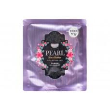 Petitfee Гидрогелевая маска для лица с маслом ши и жемчужной пудрой Koelf Pearl & Shea Butter Mask