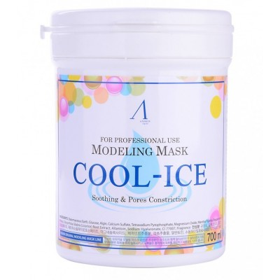Альгинатная маска охлаждающая с экстрактом мяты Anskin Modeling Mask Cool-Ice Soothing & Management
