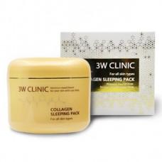 Ночная маска с коллагеном 3W Clinic Collagen Sleeping Pack 100 мл