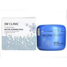 Ночная маска увлажняющая 3W Clinic Water Sleeping Pack 100 мл