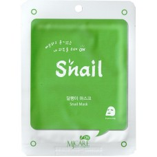 Mijin Care Mask Тканевая маска для лица муцин улитки Snail 25 гр