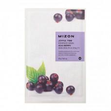 Mizon Маска для лица тканевая c ягодой асаи Joyful Time essence mask ACAI BERRY 23 гр