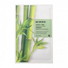 Mizon Маска для лица тканевая c бамбуком Joyful Time essence mask BAMBOO 23 гр