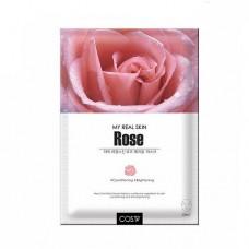 Тканевая маска COS.W My Real Skin Rose Facial Mask (23 мл)