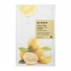Mizon Маска для лица тканевая c витамином С Joyful Time essence mask VITAMIN C 23 гр