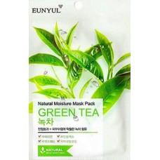 Маска тканевая с зеленым чаем, 22 мл, Eunyul