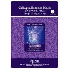 Mijin Essence Mask Маска тканевая для лица (23гр) коллаген