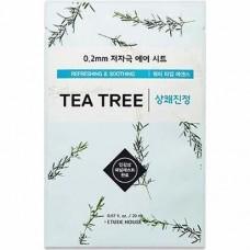 ETUDE HOUSE Маска для лица тканевая c экстрактом чайного дерева 0.2 Therapy Air Mask Tea Tree
