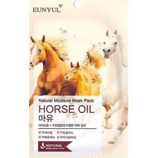 Маска тканевая с лошадиным маслом, 22 мл, Eunyul