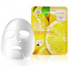 Тканевая маска с лимоном 3W Clinic Fresh Mask Sheet (23 мл) Lemon