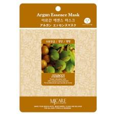 Mijin Essence Mask Маска тканевая для лица (23гр) аргана