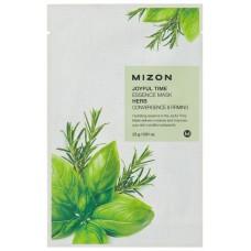 Mizon Маска для лица тканевая травяная Joyful Time essence mask HERB 23 гр