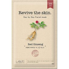 Тканевая маска Red Ginseng Mask LABUTE Revive the skin 23 мл