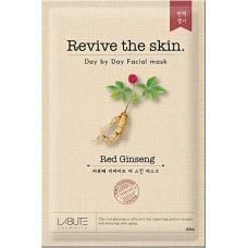 Тканевая маска Red Ginseng Mask LABUTE Revive the skin (23 мл)