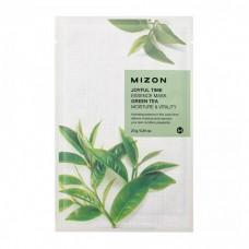 Mizon Маска для лица тканевая c зеленым чаем Joyful Time essence mask GREEN TEA 23 гр