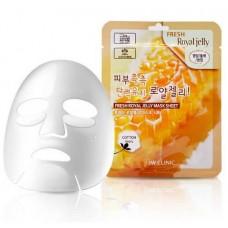 Тканевая маска с маточным молочком 3W Clinic Fresh Mask Sheet (23 мл) Royal Jelly