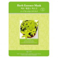 Mijin Essence Mask Маска тканевая для лица (23гр) лечебные травы