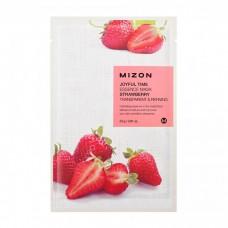 Mizon Маска для лица тканевая c клубникой Joyful Time essence mask STRAWBERRY 23 гр