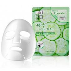 Тканевая маска с огурцом 3W Clinic Fresh Mask Sheet (23 мл) Cucumber