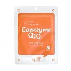 Mijin Care Mask Тканевая маска для лица коэнзим Q10 Coenzyme Q10 25 гр