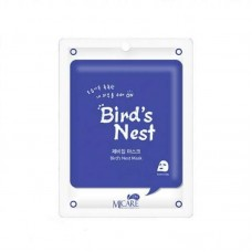 Mijin Care Mask Тканевая маска для лица ласточкино гнездо Bird's Nest 25 гр